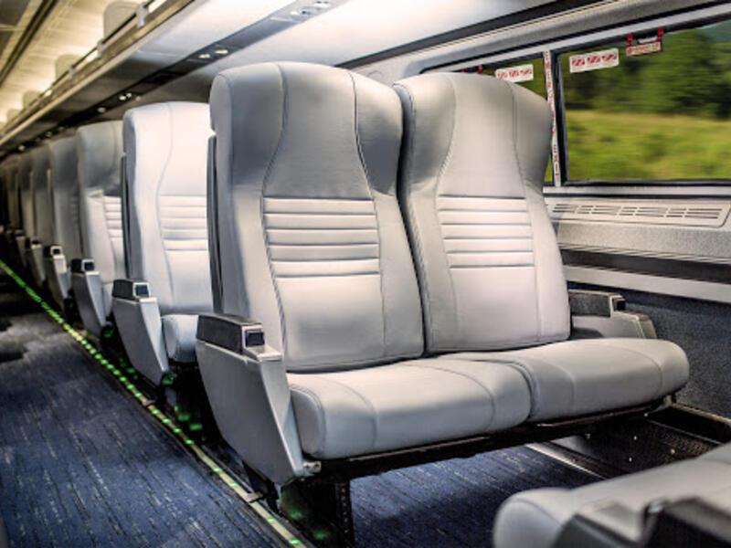 amtrak seat