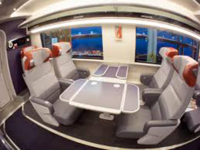 acela train seat