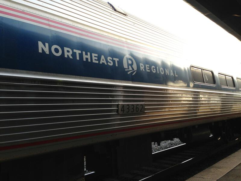amtrak northeast regional train
