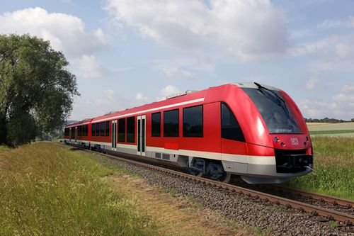 Deutsche Bahn with non-federally owned railway company