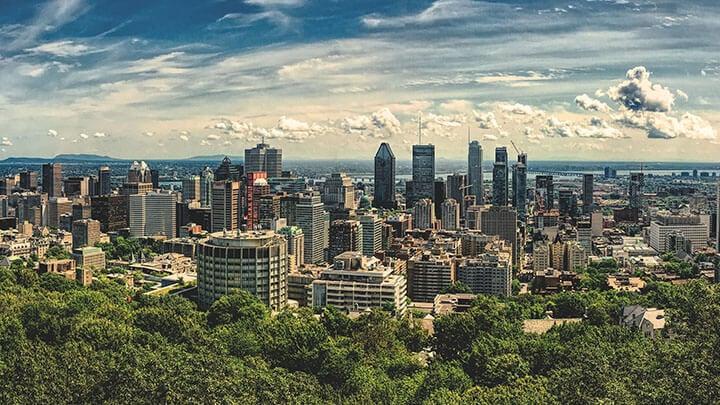 Toronto to Montreal