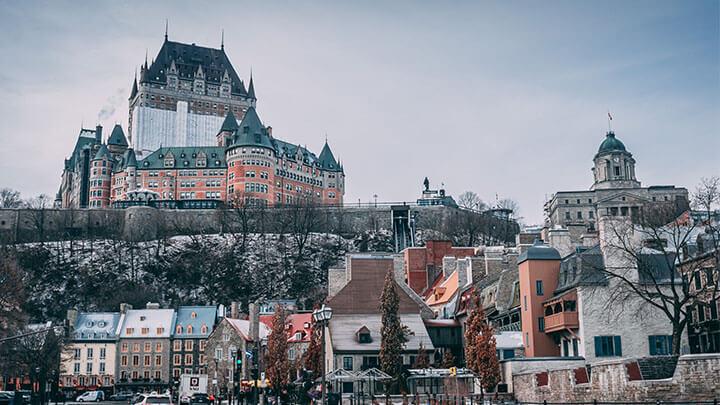 Montréal à Québec
