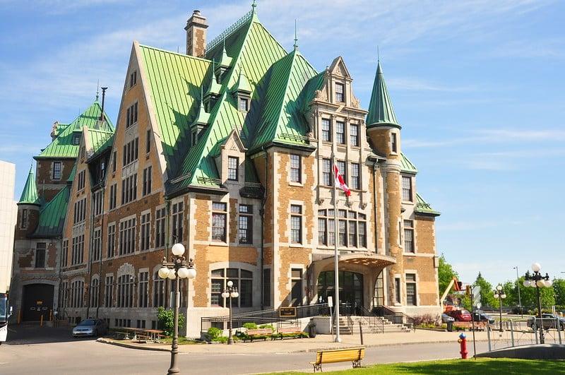 Gare du Palais, Québec City, QC - CAXLJVIA-0