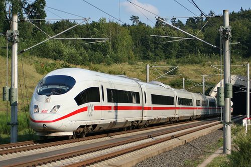 Deutsche Bahn Intercity Express train – ICE